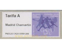 Ref. 637625 * MNH * - SPAIN. 2020. OLIMPICAS - MUJERES EN EL DEPORTE - Tennis
