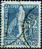"Berlin 1949 Michel-# 35 "" 12 Pf Grau 75 Jahre UPU Stephan "" Michel ~12 € - Used Stamps"