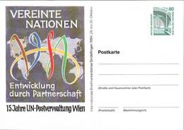 ! 1994 Sindelfingen, Vereinte Nationen, Privatganzsache, PP, 80 Pfg. Sehenswürdigkeiten Zeche Zollern Dortmund - Privatpostkarten - Ungebraucht