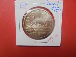 ESPAGNE 2000 PESETAS 1994 ARGENT QUALITE FDC (A.6) - 2 000 Pesetas