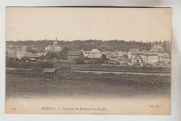 CPA BERNAY (Eure) - Vue Prise Du Boulevard De Bouffey - Bernay