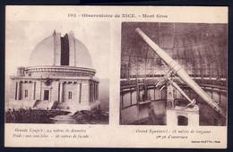 NICE - OBSERVATOIRE - MONT GROS - Astronomy