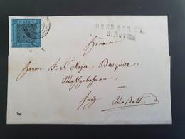 Brief Baden Mit Mi 8. Oberkirch. - Baden