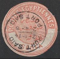 Vignette De Franchise D'Egypte  Interpostal  1879-82 Oblitération De Port Said  Type VII à VIII  Sedfa (H5) - 1866-1914 Ägypten Khediva
