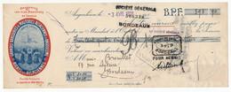 """FRANCE - Fiscal Type Daussy 60c Sur Traite """"Grandes Brasseries Et Malteries Alsaciennes D'Angoulème - 1931 - Fiscaux"""