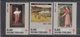 Finland 1973 - Painting, Mi-Nr. 730/32, MNH** - Nuevos