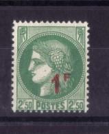 N° 488 NEUF** - 1945-47 Cérès De Mazelin