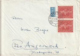 Allemagne Lettre Singen 1956 - Cartas