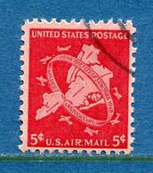 ⭐ Etats Unis - YT PA N° 39 - Oblitéré - Poste Aérienne - 1948 ⭐ - 2a. 1941-1960 Usados