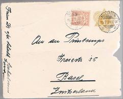 Nederlands-Indie, 1924, For Basel, Fragment - Netherlands Indies