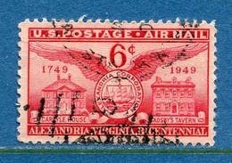 ⭐ Etats Unis - YT PA N° 40 - Oblitéré - Poste Aérienne - 1949 ⭐ - 2a. 1941-1960 Usados
