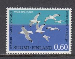 Finland 1974 - Umweltschutzkonferenz Fuer Die Rettung Der Ostsee, Mi-Nr. 748, MNH** - Nuevos