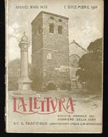 RIVISTA LA LETTURA 1 DICEMBRE 1918 TRIESTE LIBERATA - TRENTO RIVENDICATA WWI GRANDE GUERRA - War 1914-18