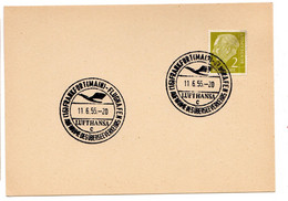 FRANKFURT FLUGHAFEN  LUFTHANSA 11.6.1955 - Sin Clasificación