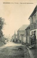 Bécherel * La Rue De La Quintaine * Villageois - Bécherel