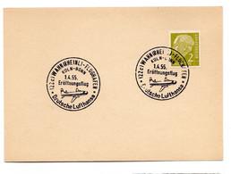 DEUTSCHE LUFTHANSA WAHN FLUGHAFEN KOLN BONN 1.4.1955 - Sin Clasificación