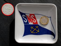 Ancien Cendrier Compagnie De Sauvetage : SNS Société Nationale De Sauvetage - Boats