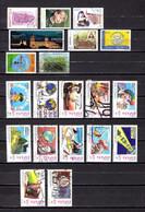 España   2001   Edifil  Nº  3809-3811/3812-3813-3814-3815-3820-3821-3822/3833 - 2001-10 Used