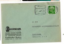 40 JAHRE DEUTSCHE LUFTPOST 1959 - Sin Clasificación