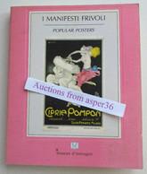 "Album Affiches ""I Manifesti Frivoli, Popular Posters"" Nicoletta Citrini 1987 - Collections"