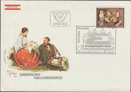 Austria FDC 1978 Europäischer Familienkongress (G125-58) - FDC