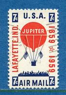 ⭐ Etats Unis - YT PA N° 53 - Oblitéré - Poste Aérienne - 1959 ⭐ - 2a. 1941-1960 Usados