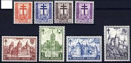 1951 - Nr 868-875 * - Unused Stamps