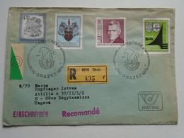 AV648.12   Austria  Recommanded  Cover Einschreiben  Cancel 1979 GRAZ  Scout Jamboree - Sent To Hungary Nagykanizsa - 1971-80 Cartas