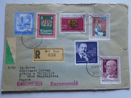 AV648.17 Austria  Recommanded  Cover Einschreiben  Cancel 1980 GRAZ  - Sent To Hungary Nagykanizsa - 1971-80 Cartas