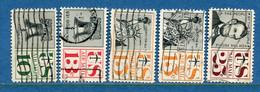 ⭐ Etats Unis - YT PA N° 56 à 60 - Oblitéré - Poste Aérienne - 1959 à 1961 ⭐ - 2a. 1941-1960 Usados