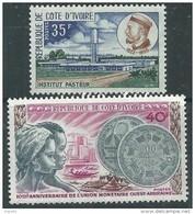 Côte D'Ivoire N° 343 + 344  XX Les 2 Valeurs Sans Charnière, TB - Costa De Marfil (1960-...)