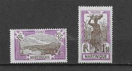 ⭐ Martinique Y.T N° 122- 126**  Neuf Sans Charnière⭐ - Neufs