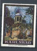 Karlsbad  - Alte Vignette - Cinderella - Reklamemarke - Otros