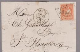 LAC - N°48  0BL. GC De TROYES / 23 JUIL. 72 - 1849-1876: Periodo Classico