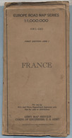 1944 FRANCE ARMY MAP SERVICE CORPS OF ENGINEERS US ARMY - 1939-45