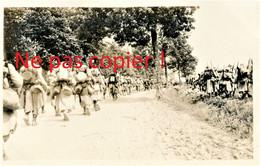 CARTE PHOTO FRANCAISE 322 RIT  POILUS EN ROUTE POUR VADELAINCOURT PRES DE DUGNY SUR MEUSE - VERDUN - GUERRE 1914 1918 - Guerra 1914-18