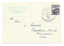 1955 Christkindl Postkarte - 1945-60 Cartas