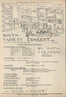 Guerre 40 Programme Concert The B.I.R.C. Grande Caserne St Saint Denis Paris Mars 1941 Frontstalag Pour Prisonniers - Programs
