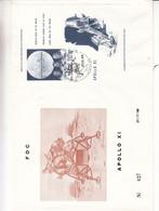 Belgique - Lettre De 1969 ° - Oblit Koksijde - Espace - Premier Homme Sur La Lune - Amstron - Collins - Aldrin - Europa