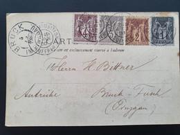 Exposition Universelle Paris 1900. Bruck Suffres 4-10-1900 - Non Classificati