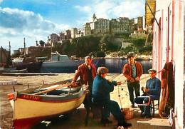 Cpm BASTIA 2B Groupe De Pêcheurs - Bastia