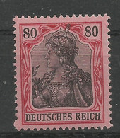 Deutsches Reich 93 II B **, Signiert Infla - Unused Stamps