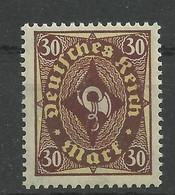 Deutsches Reich 208 P Z **, Geprüft Bechtold - Unused Stamps
