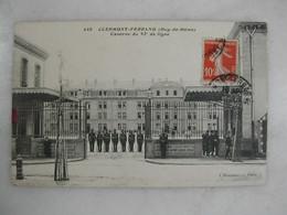 MILITARIA - CLERMONT FERRAND - Caserne Du 92ème De Ligne (animée) - Caserme