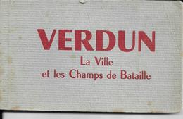 CPSM  VERDUN  55  :  Carnet De 18 Cartes   Années 50/60  Ensemble Vierge - Verdun