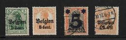 ALLEMAGNE 1920 OCCUPATION A L'ETRANGER  YVERT N°  OBLITERES - Occupation 1914-18
