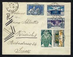 """FRANCE 1925: LSC """"Arts Décoratifs""""de Paris Pour La Suisse Affr. De 2F - Briefe U. Dokumente"""