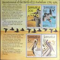 Jamaica 1985 Audubon Birds Minisheet MNH - Ohne Zuordnung