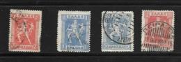 GRECE 1911/21  YVERT N°189/91  OBLITERE - Used Stamps