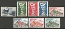 Timbre Andorre Francais P-a En Neuf **  N 1/8  Les 8 Timbre - Poste Aérienne